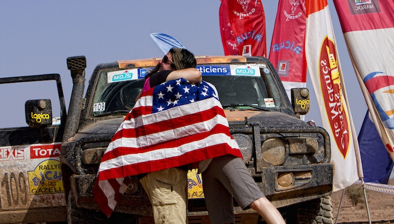 Two Moms Compete in Hardest Off-Road Race in the World Finish Line