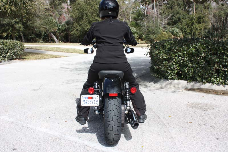 review harley davidson forty eight license plate