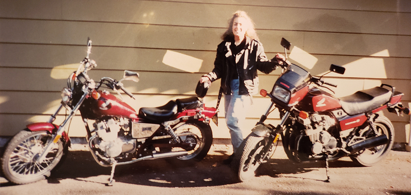 We Invite You to Join Us by Sharing Your Motorcycle Memories Then and Now Sarah Schilke Honda Rebel Nighthawk