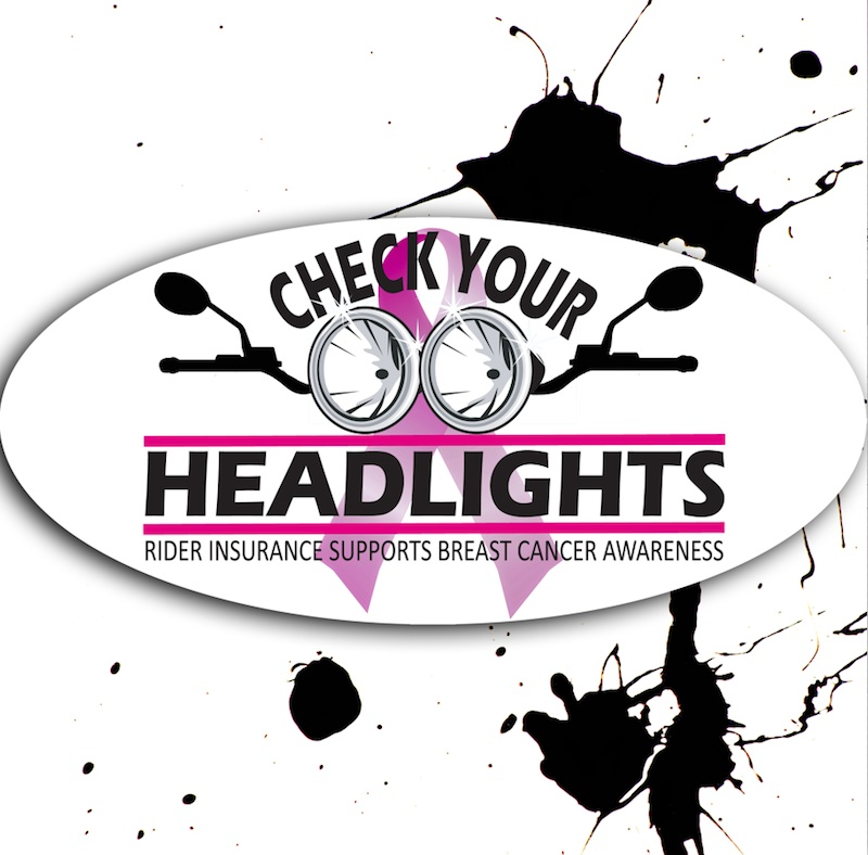 Breast Cancer Awareness Campaign Check Your Headlights Magnet