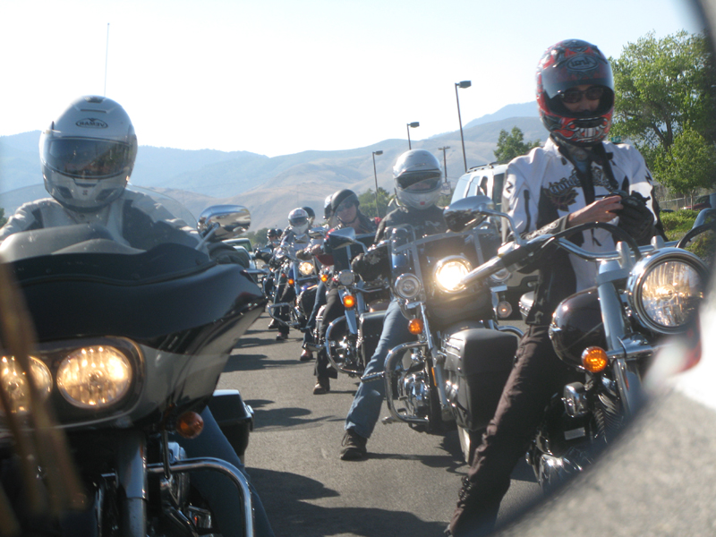 how to politely leave a riding group
