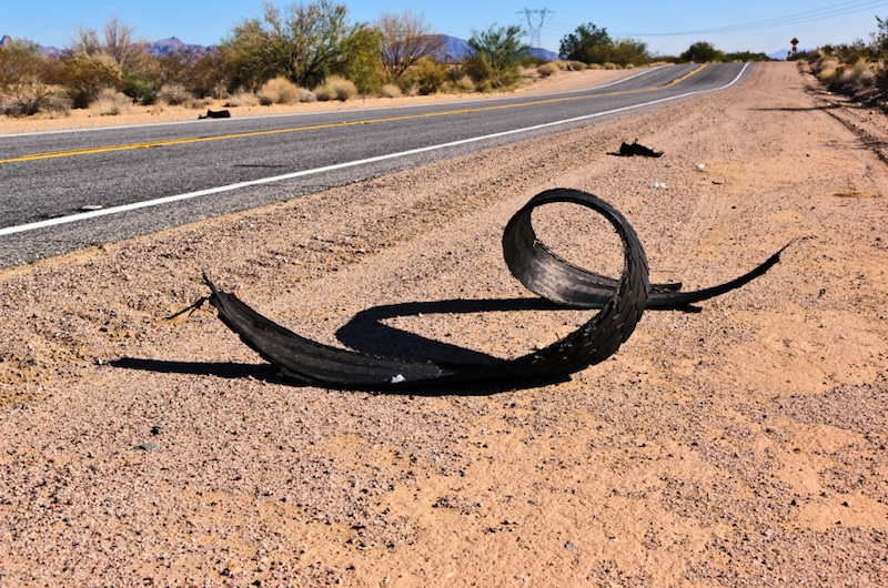 A Shoe on the Side of the Road gators