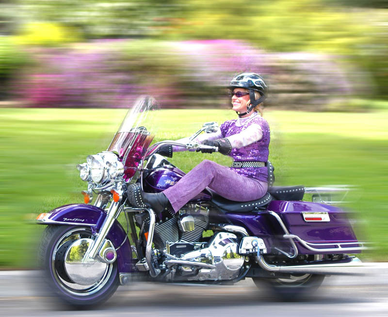 motorcycling and menopause ronna purple road king