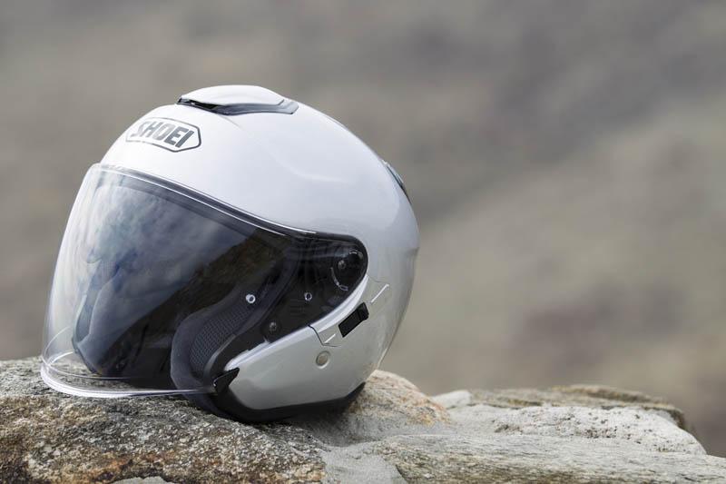 review shoei j cruise open face helmet vents