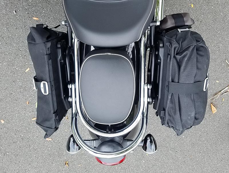 reader review sw-motech legend gear saddlebags top triumph bonneville speedmasterseat