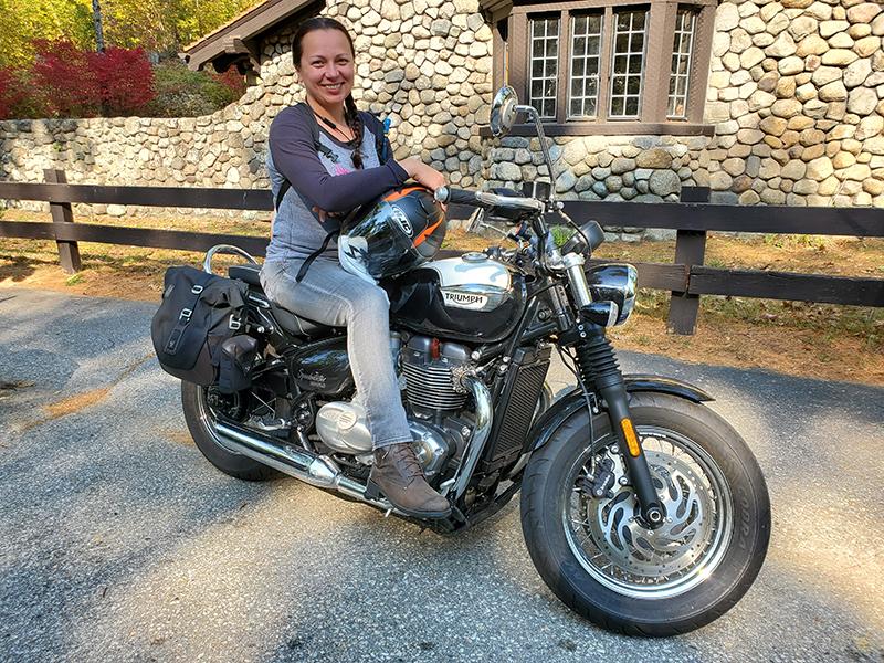 reader review sw-motech legend gear saddlebags gosia 2019 triumph bonneville speedmaster