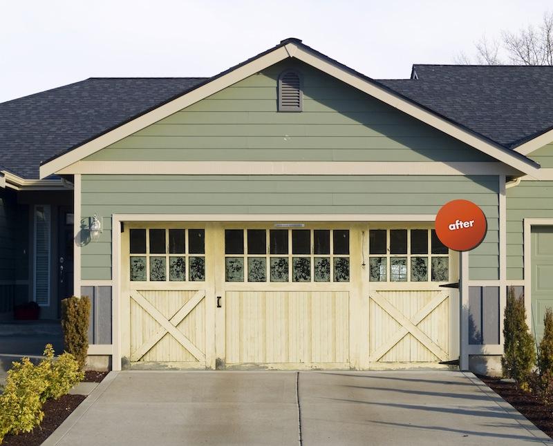 Garage Door Renovation