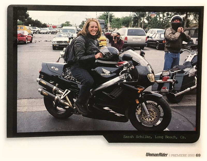 We Invite You to Join Us by Sharing Your Motorcycle Memories Then and Now Sarah Schilke Honda VFR