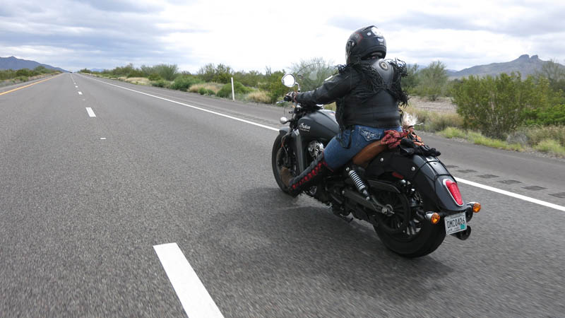 From Soccer Mom and Drug Addict to Vibrant Motorcycling Woman Sash Walker Indian