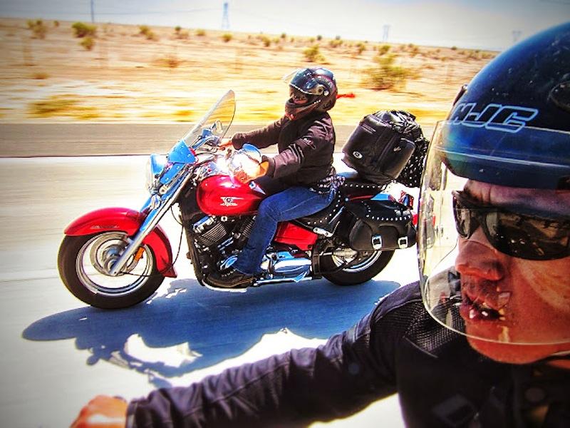 Events Steel Horse Sisterhood Summit man woman ride side by side