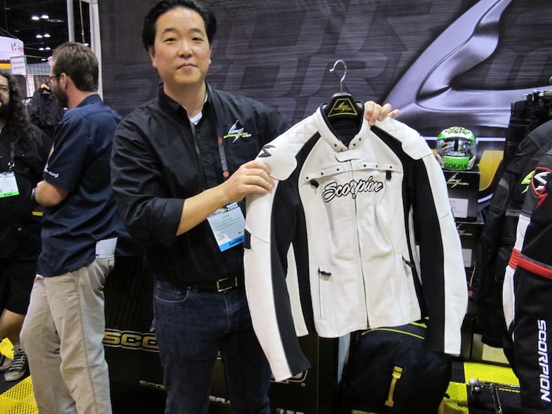 American International Motorcycle Expo (AIMExpo) 2013 Recap Scorpion Vixen