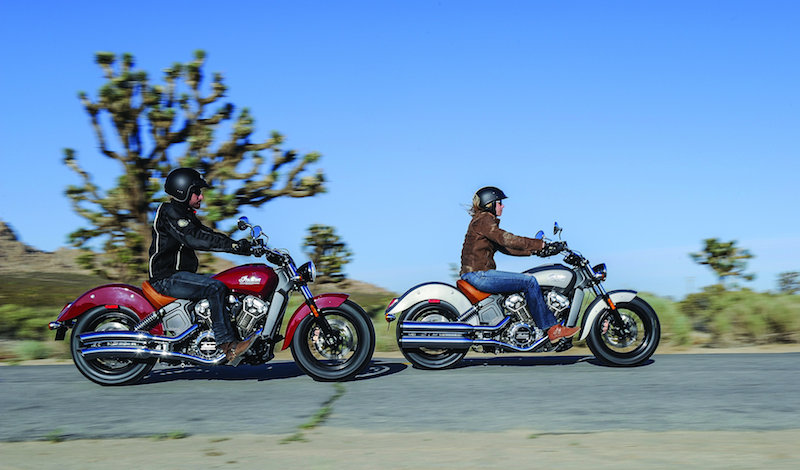 motorcycle review 2015 indian scout red and silver