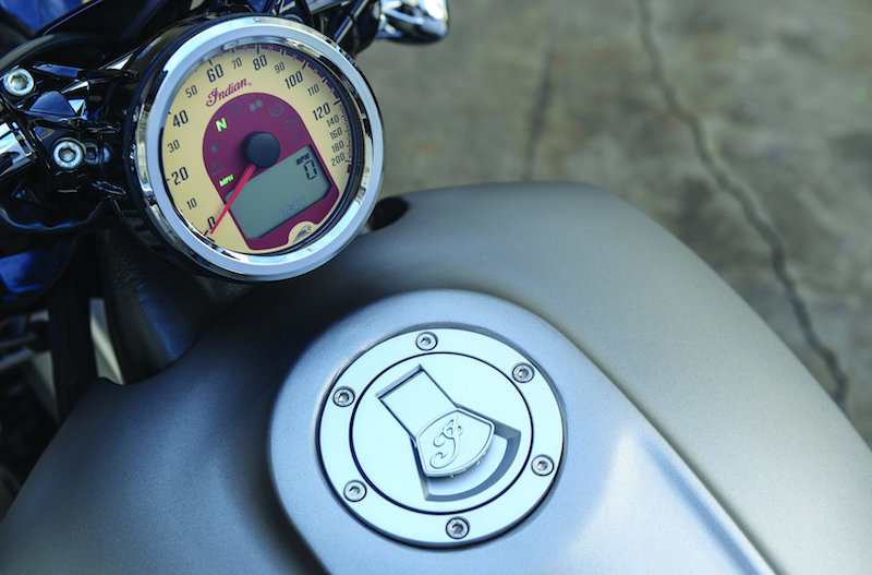 motorcycle review 2015 indian scout speedometer