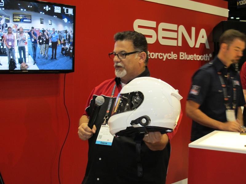 American International Motorcycle Expo (AIMExpo) 2013 Sena