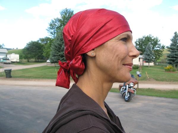 diva do helmet liner red