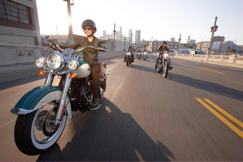top 10 motorcycles women ride harley davidson softail deluxe
