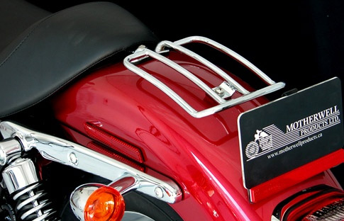 solo seat luggage racks an detachable racks for motorcycles rear fender