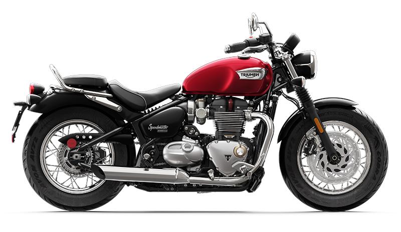 2018 new motorcycles Triumph Bonneville Speedmaster classic profile