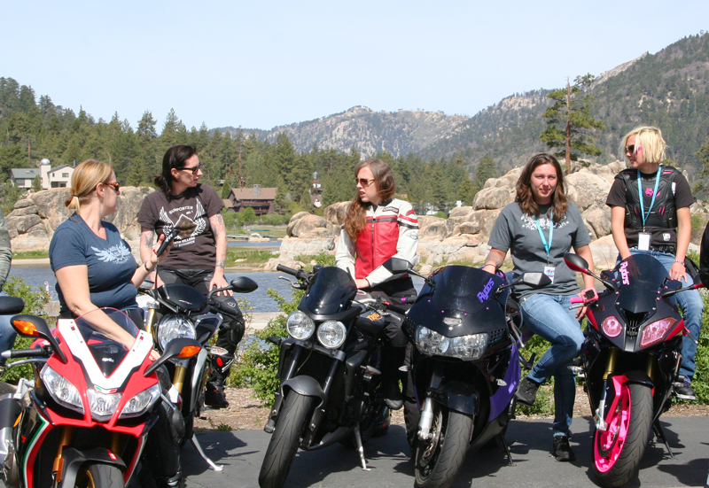 6 ways to attract more women in motorcycling sportbike rally
