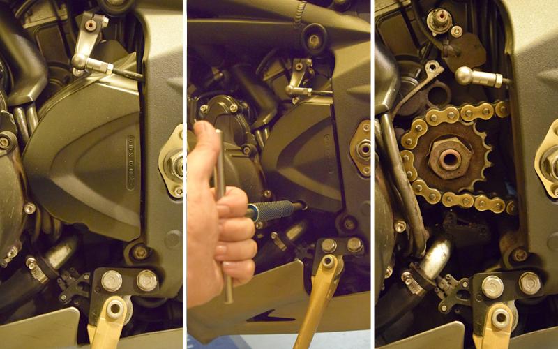 Do It Yourself Final Drive Maintenance Sprocket
