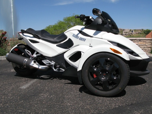 Review Can-Am Spyder RS-S Accessories