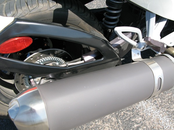 Review Can-Am Spyder RS-S Exhaust