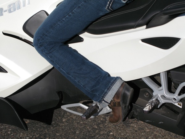 Review Can-Am Spyder RS-S Parking Brake