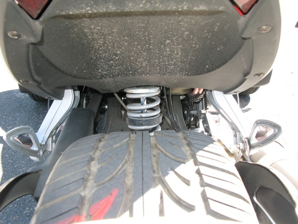 Review Can-Am Spyder RS-S Suspension
