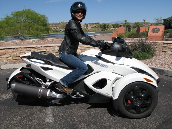 Review Can-Am Spyder RS-S Seating Position