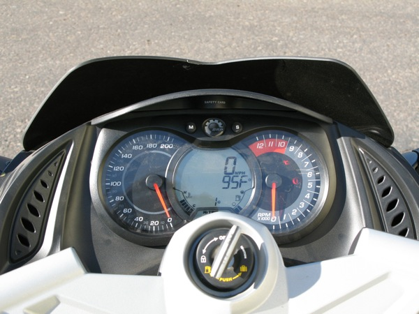 Review Can-Am Spyder RS-S Dash