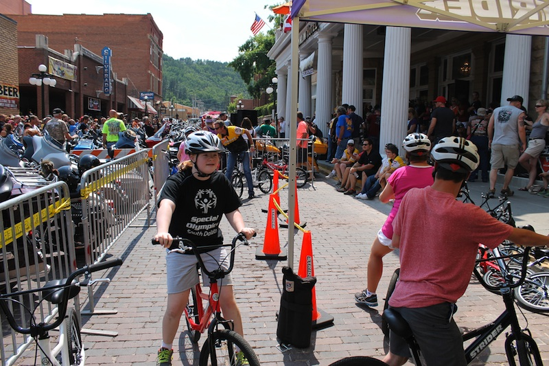Two Wheels for Folks with Special Needs Strider Legends Ride Sturgis