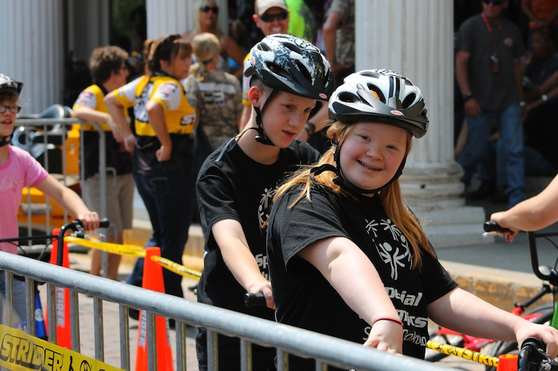 Two Wheels for Folks with Special Needs Legends Ride Special Olympics