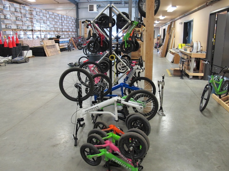 Two Wheels for Folks with Special Needs Strider warehouse