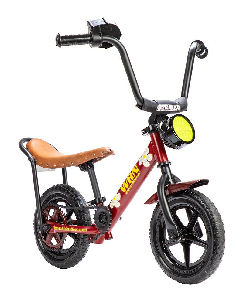 Women Riders Now Builds Its First Custom Motorcycle progressions strider balance bike