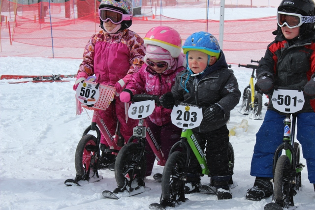 Two Wheels for Folks with Special Needs Strider Skis