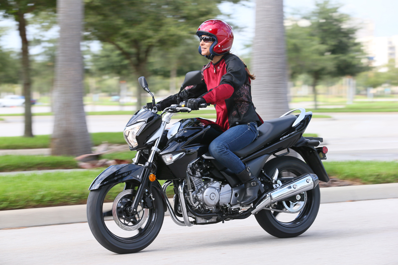 American International Motorcycle Expo (AIMExpo) 2013 Recap Suzuki GW250
