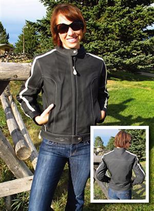 WRN Giveaway create your ultimate motorcycle getaway Suzuki jacket front back