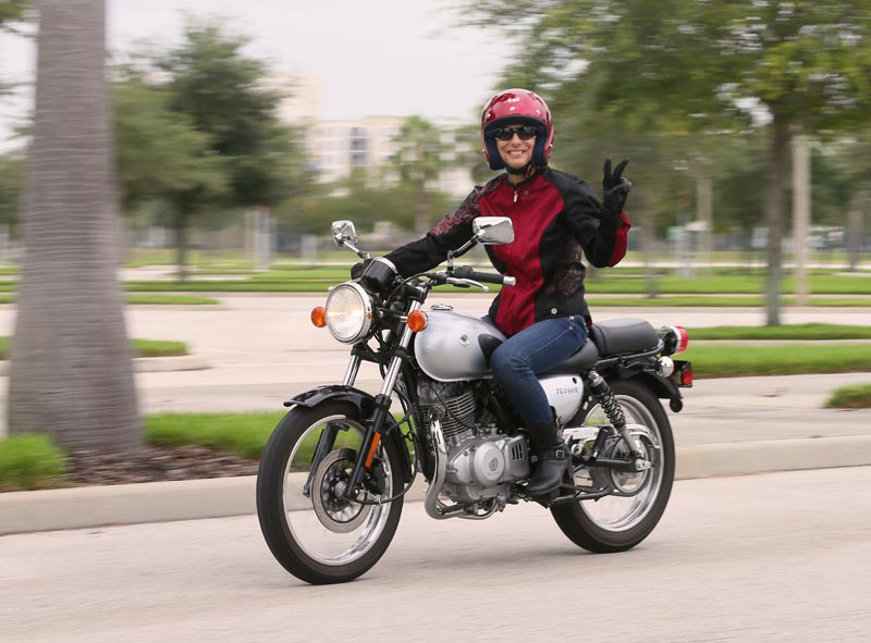 American International Motorcycle Expo (AIMExpo) 2013 Recap Suzuki TU250