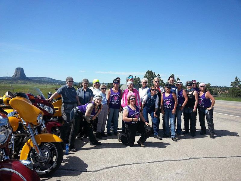 secret success behind womens motorcycle charity ride sweeties on wheelies
