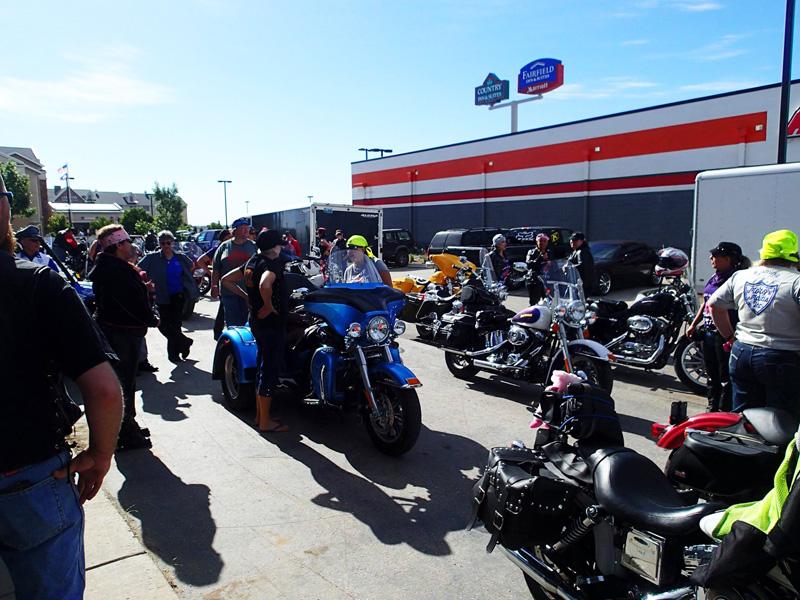 secret success behind womens motorcycle charity ride sweeties on wheelies gathering