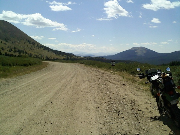 A Ride to Change Your Life dual sport trail Colorado