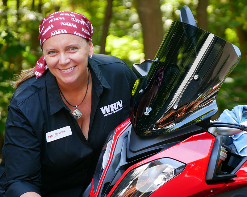 meet industry pros at womens motorcycling conference online tricia szulewski