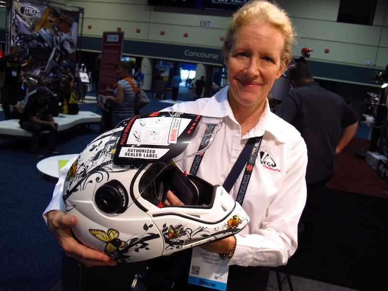 American International Motorcycle Expo (AIMExpo) 2013 Vega Helmet