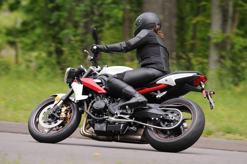 Alpinestars Stella Vika Jacket, Pants Gloves woman riding motorcycle helmet