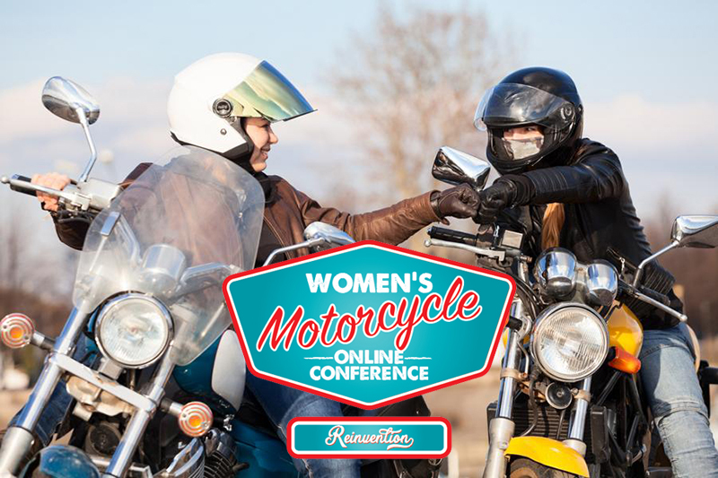 meet industry pros at womens motorcycling conference online
