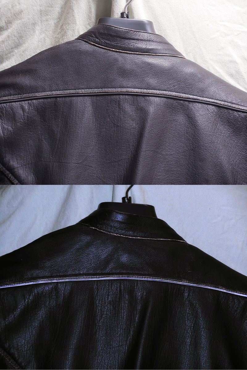 review vintage styled leather womens motorcycle jacket reflective