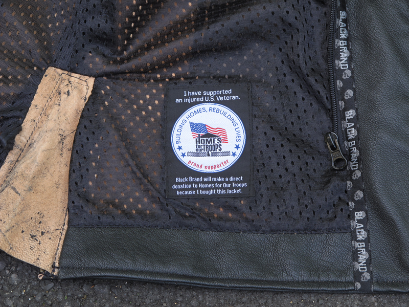 review vintage styled leather womens motorcycle jacket homes for our troops