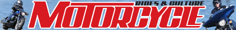 Motorcycle magazine banner