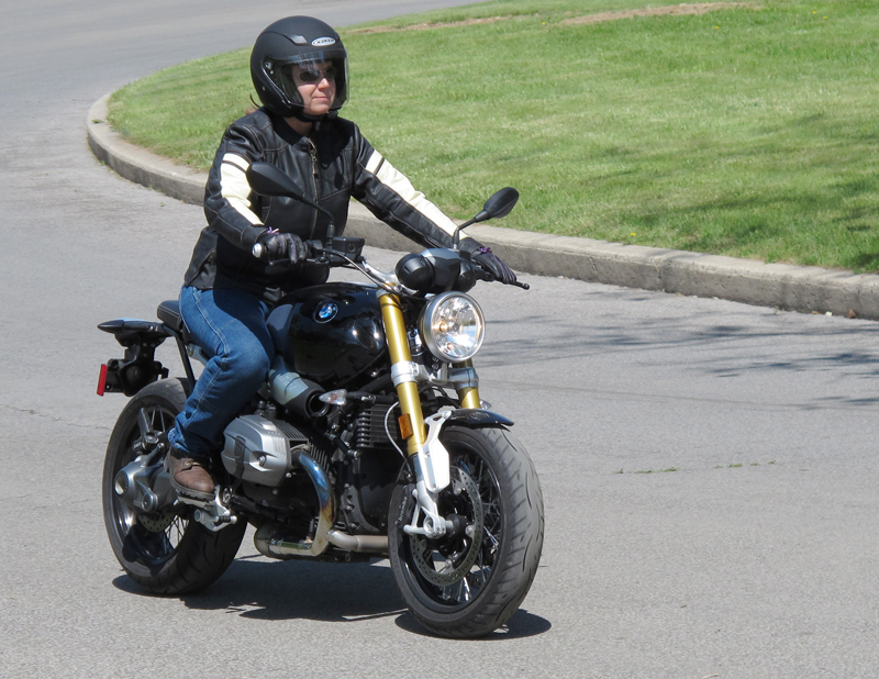 review vintage styled leather womens motorcycle jacket Eternity