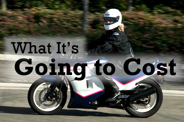 Worried about the cost of getting into motorcycling? Its probably not as high as you think. This section outlines motorcyclings up-front expenses and the items youll need in your first year of riding.